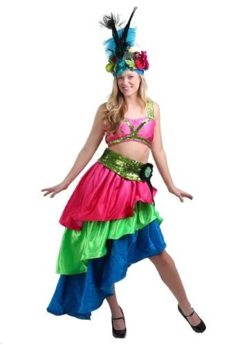 Deluxe Flamenco Dancer Costume