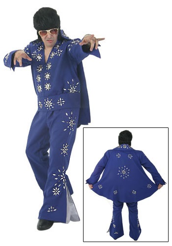 Blue Elvis Presley Jumpsuit