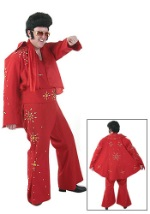 Red Elvis Jumpsuit Costume
