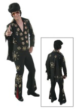 Elvis Black Jumpsuit