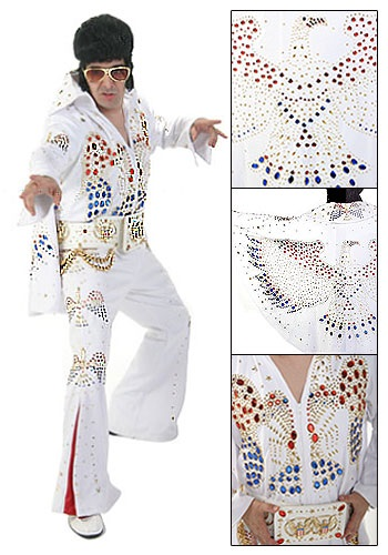 Authentic Elvis Costume  sc 1 st  Costumes Galore : elvis couple costumes  - Germanpascual.Com