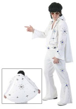 White Elvis Jumpsuit