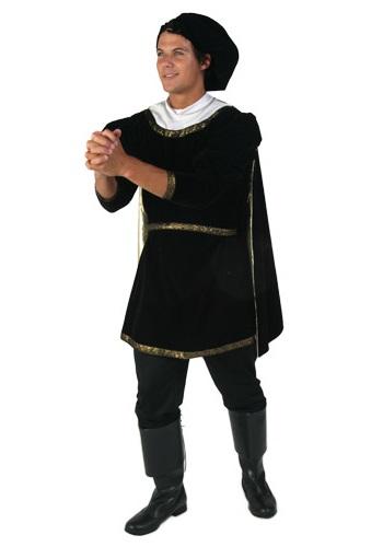 Adult Black Romeo Costume