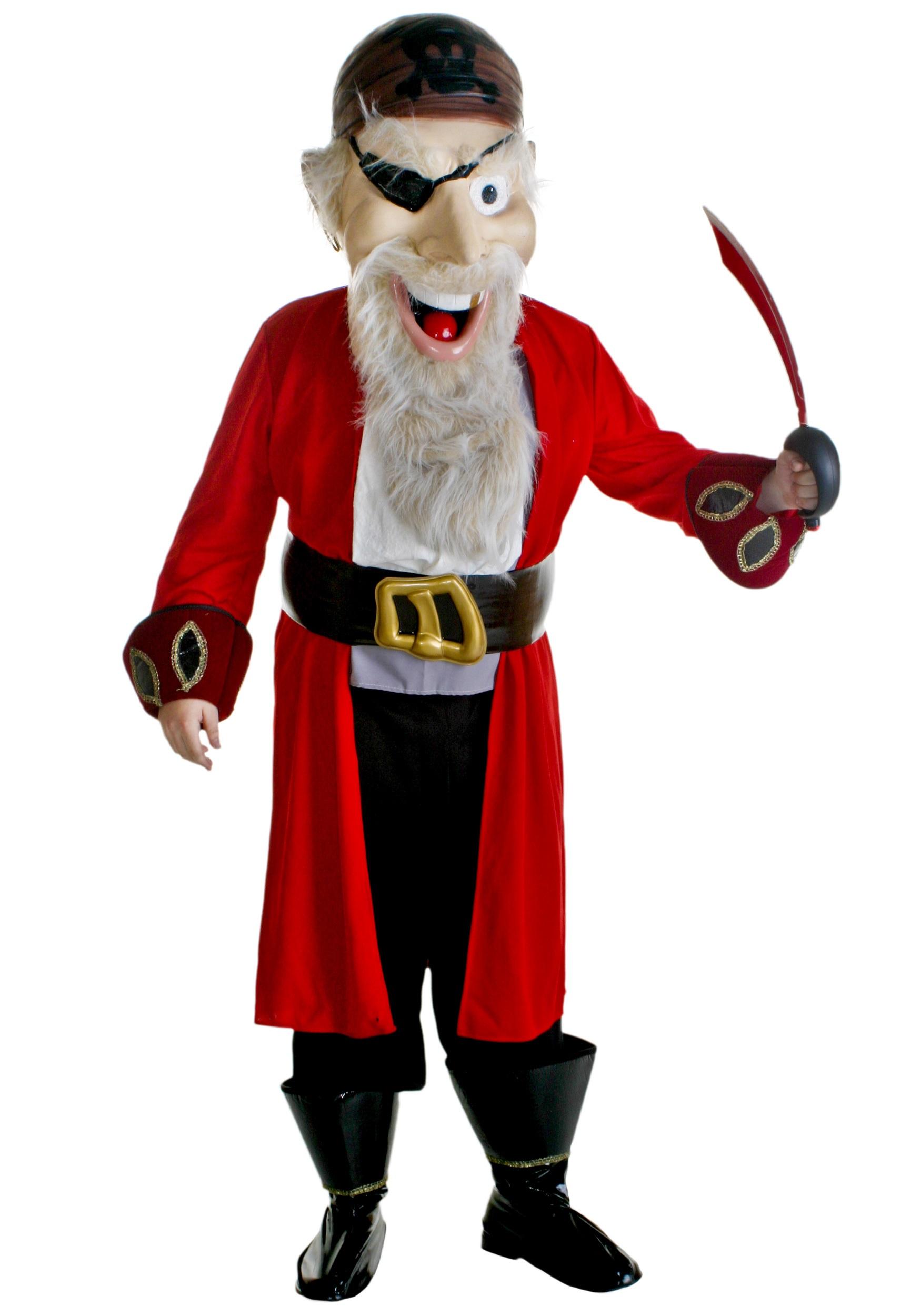 Pirate Mascot Costume  sc 1 st  Costumes Galore & Pirate Mascot Costume - Halloween Mascot Costumes