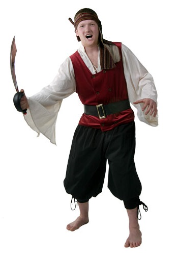 Mens Pirate Costume Rental  sc 1 st  Costumes Galore : basic pirate costume  - Germanpascual.Com