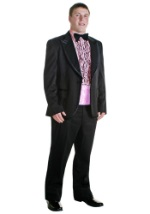 Pink 80s Tux Costume