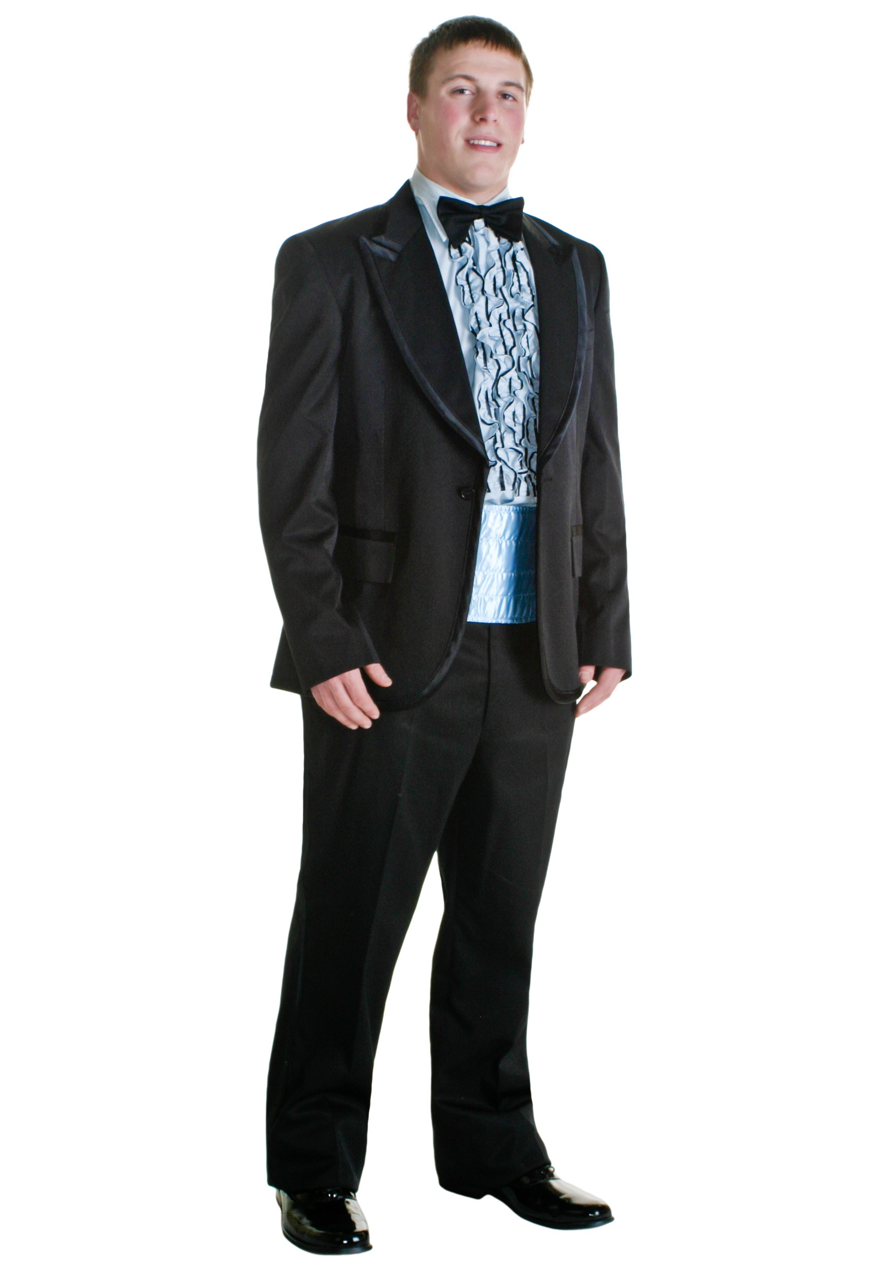 Blue and Black 80s Tux Costume - 80s Costumes
