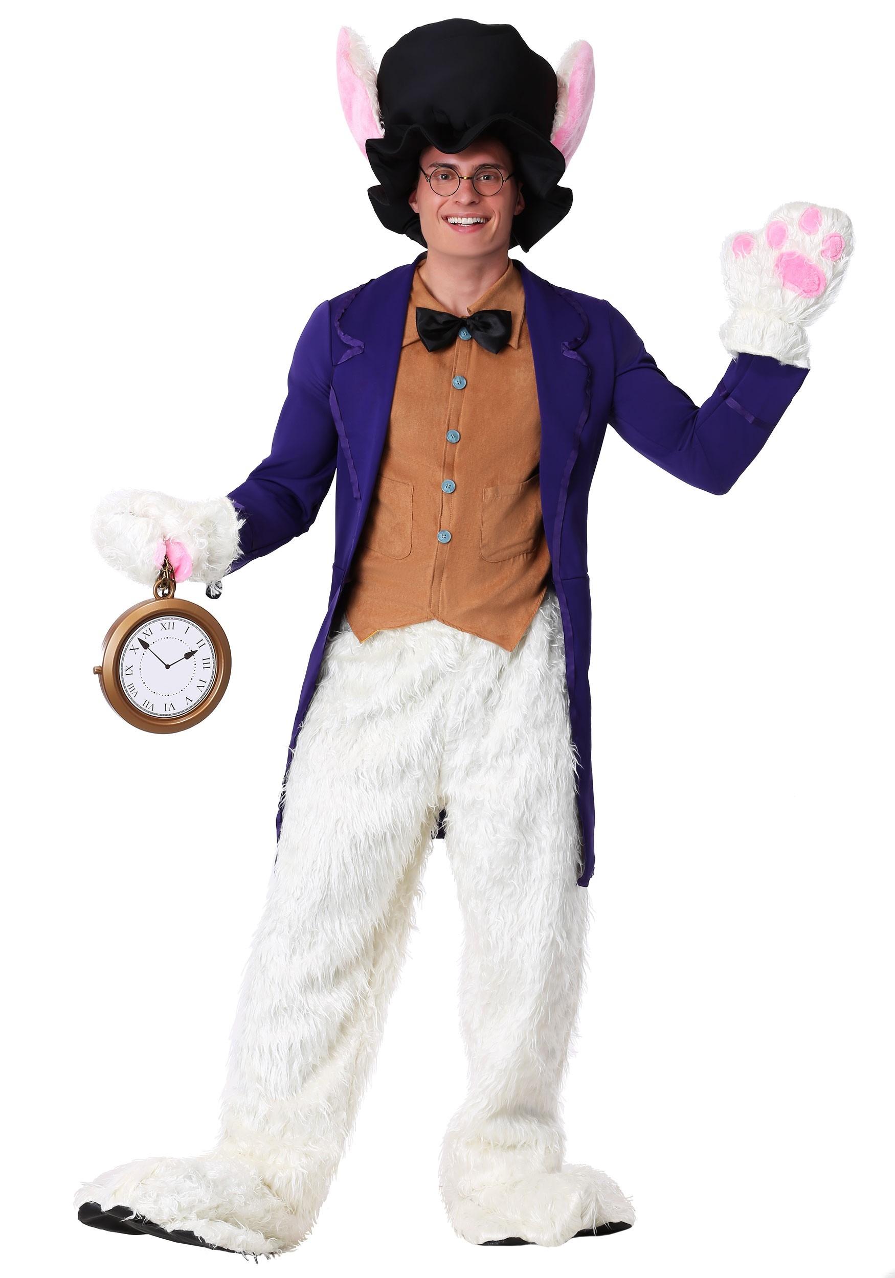 White Rabbit Costume Adult Alice In Wonderland Costumes