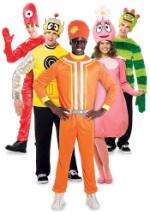 Yo Gabba Gabba Group Costume