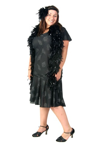 Roaring 20s Plus Size Costume
