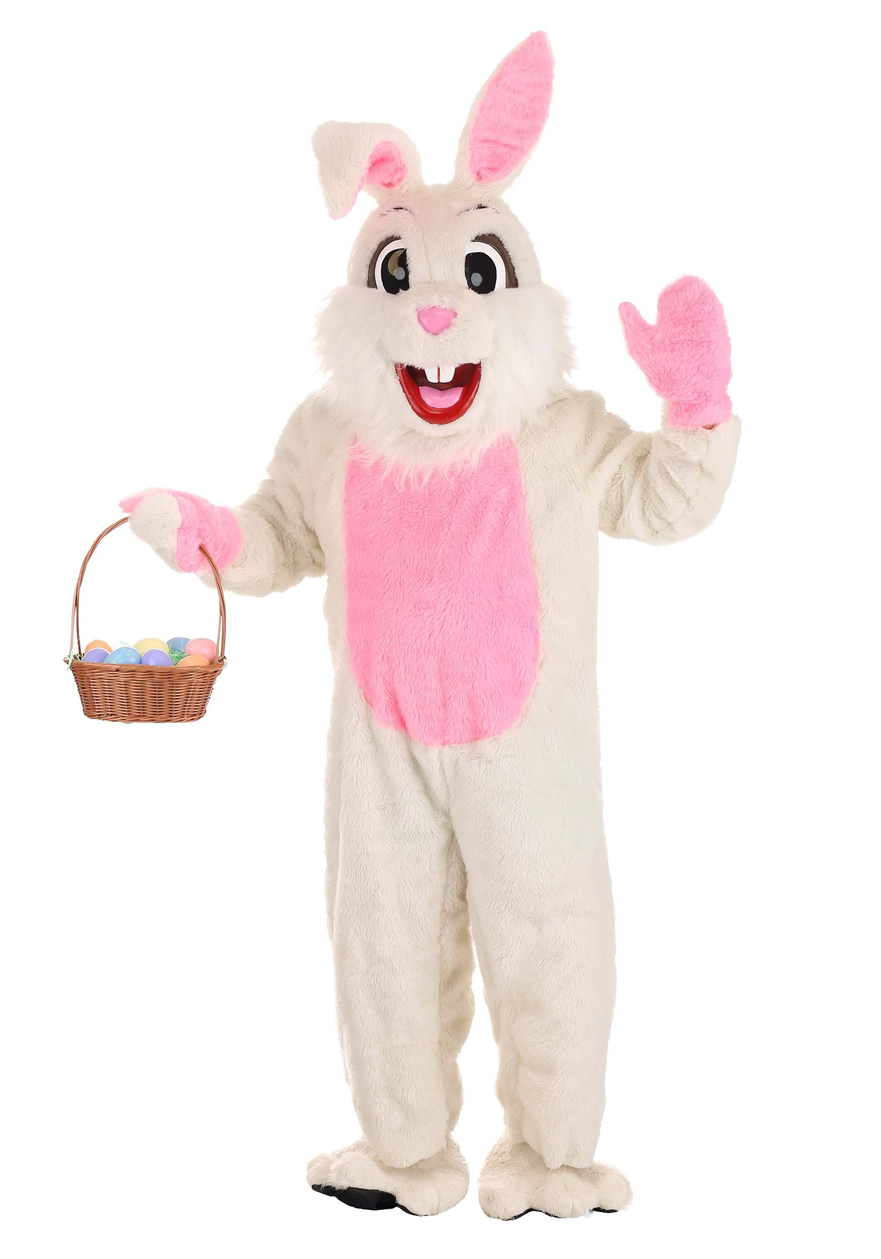 95ab20d19cecb Easter Bunny Mascot Costume