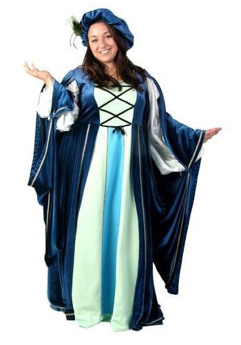 High Quality Plus Size Renaissance Gown