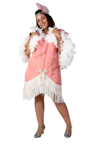 Coral 20s Flapper Costume