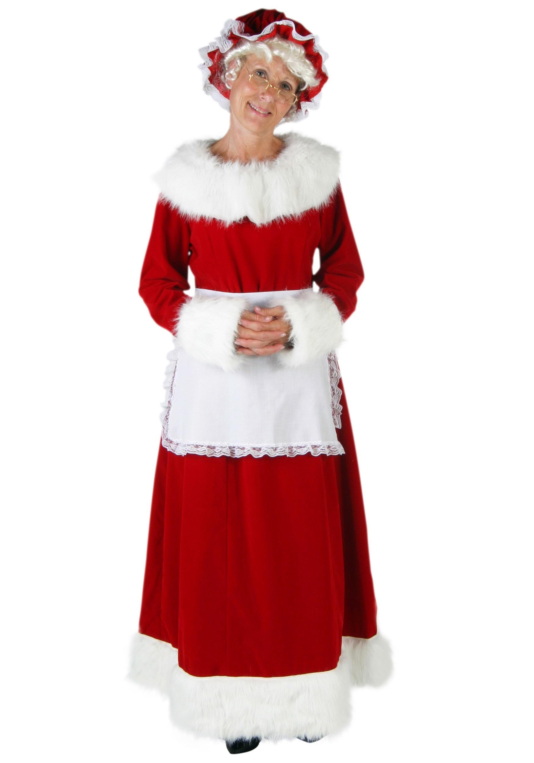 Mrs claus plus size costume costumes