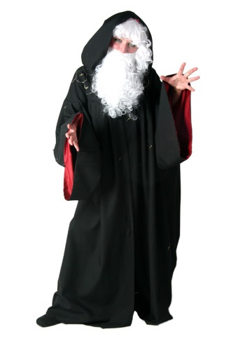 Black Renaissance Wizard Costume
