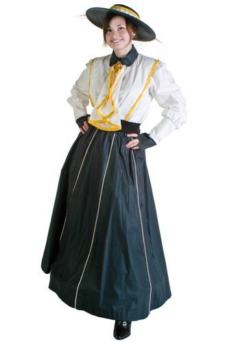 Classic Gibson Girl Costume