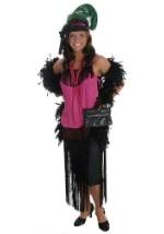Black 1920s Flapper Dress