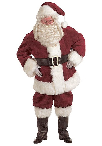 Plus Size Santa Claus Costume