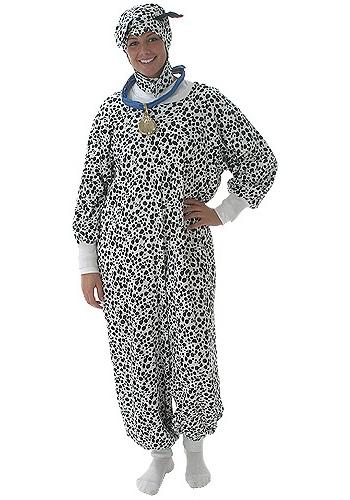 Adult Dalmatian Costume - Adult 101 Dalmatians Costume