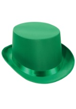 Green Felt Top Hat