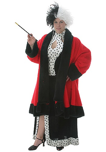Adult Cruella Deville Disney Costume