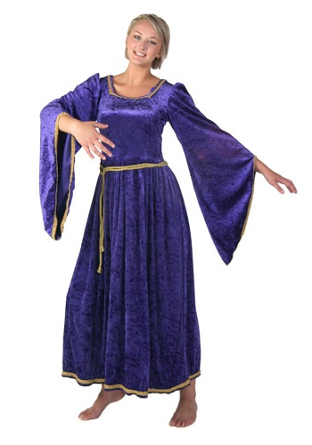 Purple Medieval Costume