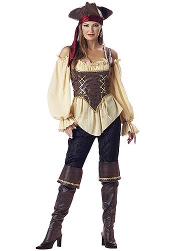 sc 1 st  Costumes Galore & Realistic Female Pirate Costume