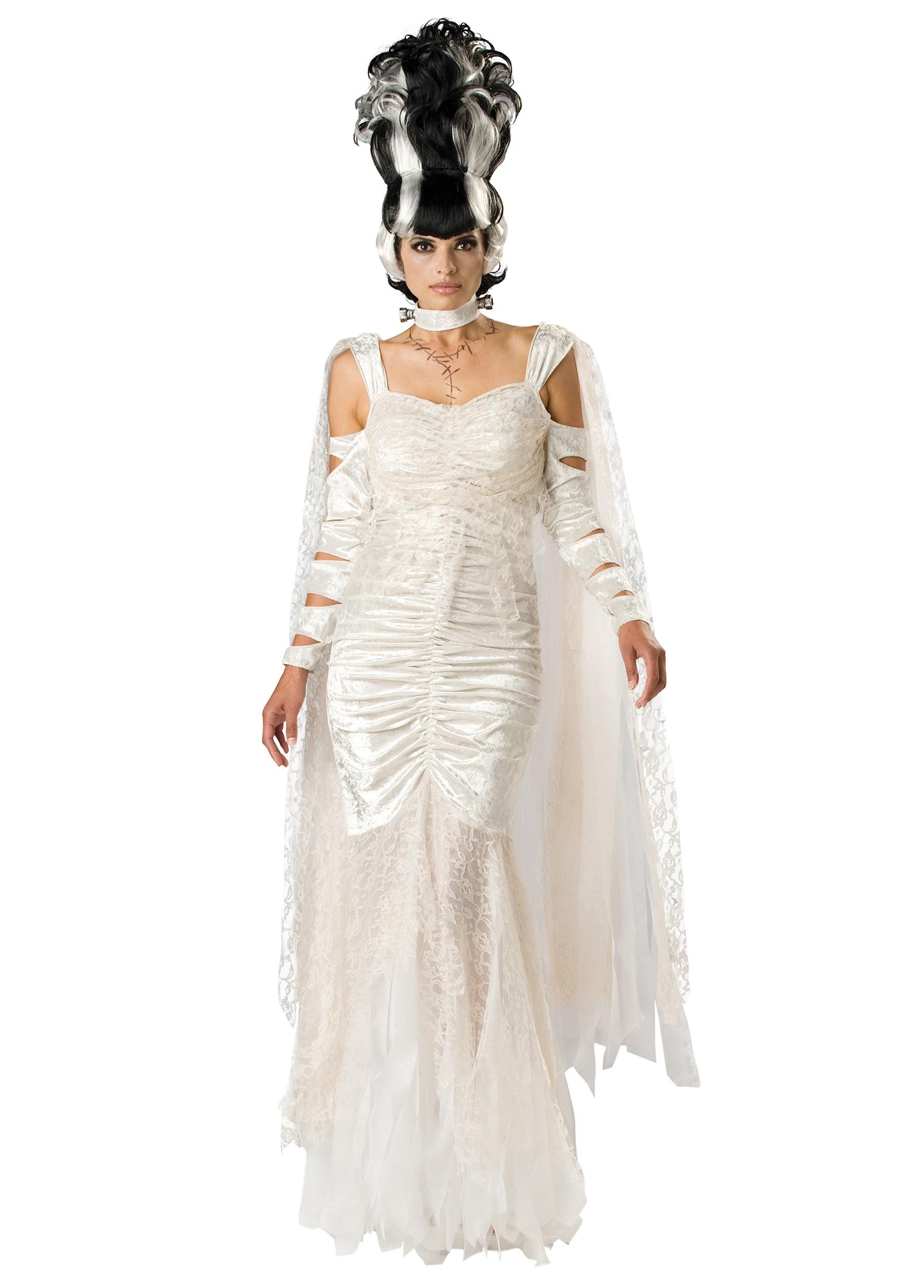 Deluxe Bride Of Frankenstein Costume Frankenstein Costumes