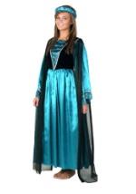 Turquoise Renaissance Gown