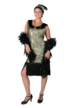 Glamorous Roaring 1920s Dress