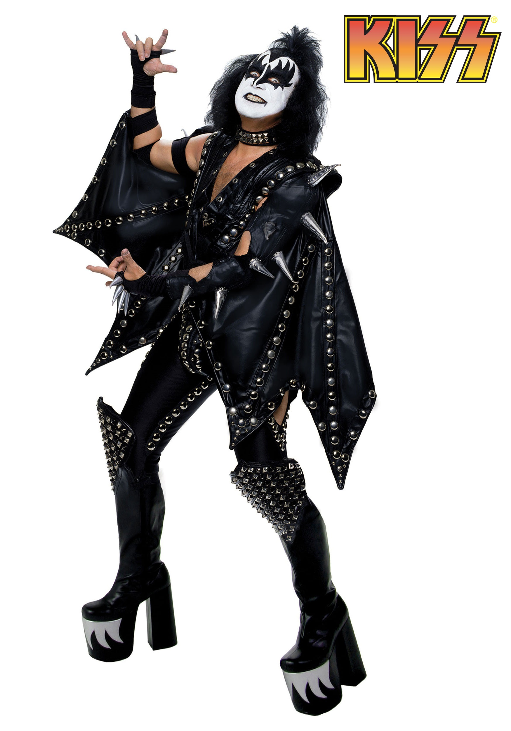 authentic gene simmons demon costume - Fraggle Rock Halloween Costumes