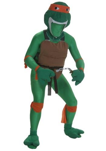 Orange Fighting Turtles Costume