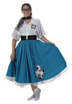 Blue 50's Costume