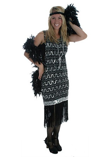 womens flapper dress