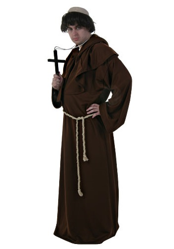 Mens Religious Monk Costume