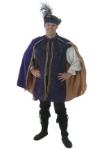 Man's Purple Renaissance Costume