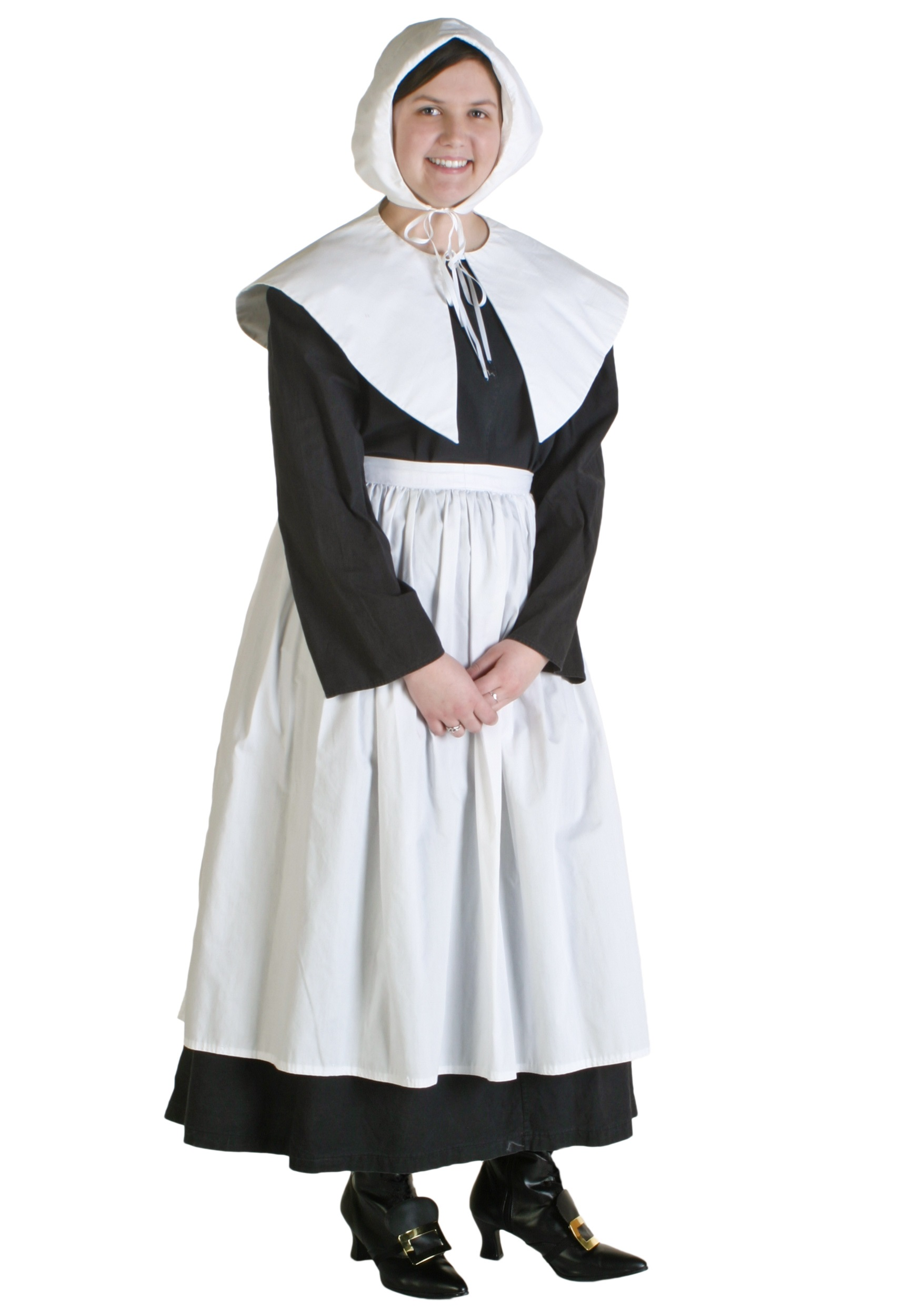Plus Size Womens Pilgrim Costume  sc 1 st  Costumes Galore & Plus Size Womens Pilgrim Costume - Colonial Costumes