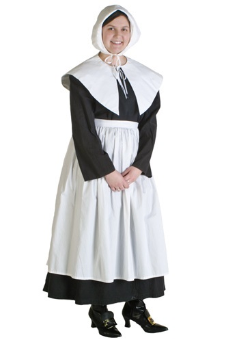 Plus Size Womens Pilgrim Costume
