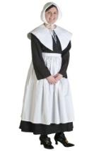Plus Size Womens Pilgrim Costume