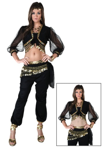 Adult Black Gypsy Costume