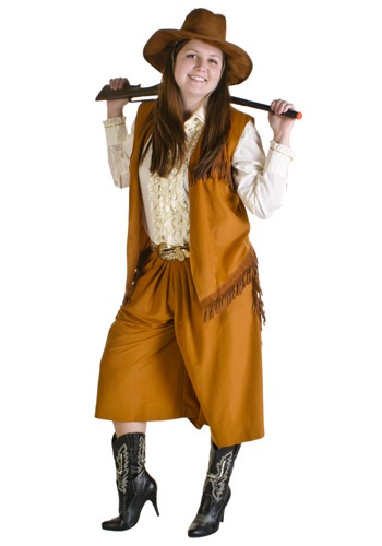 Sharp Shootin Western Girl Costume