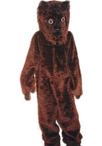Adult Baby Bear Mascot Costume