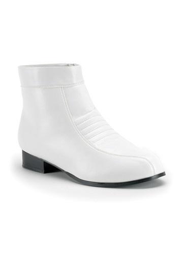 Men's White Boots