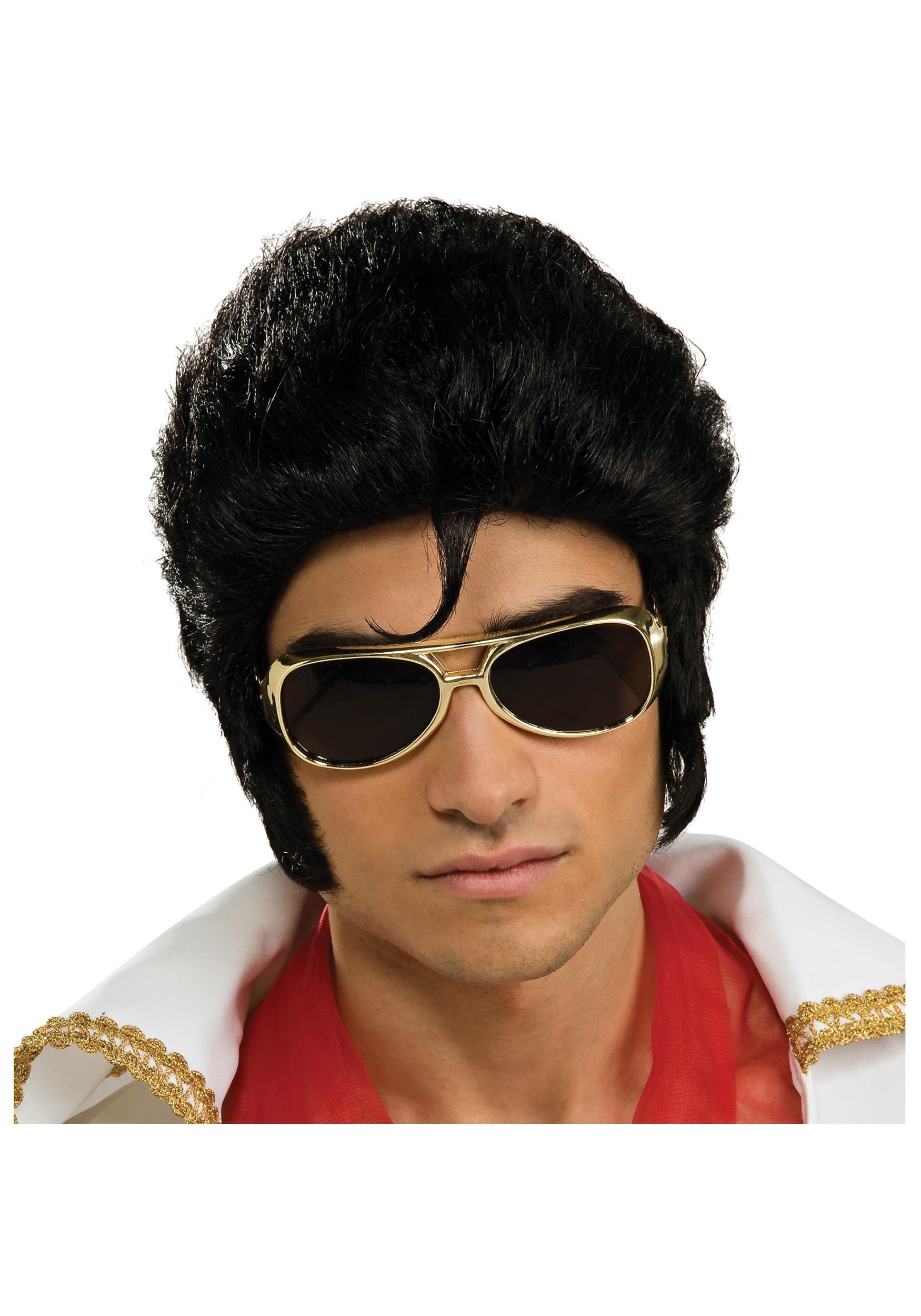 Elvis Wig  sc 1 st  Costumes Galore & Elvis Wig - Adult Costume Wigs