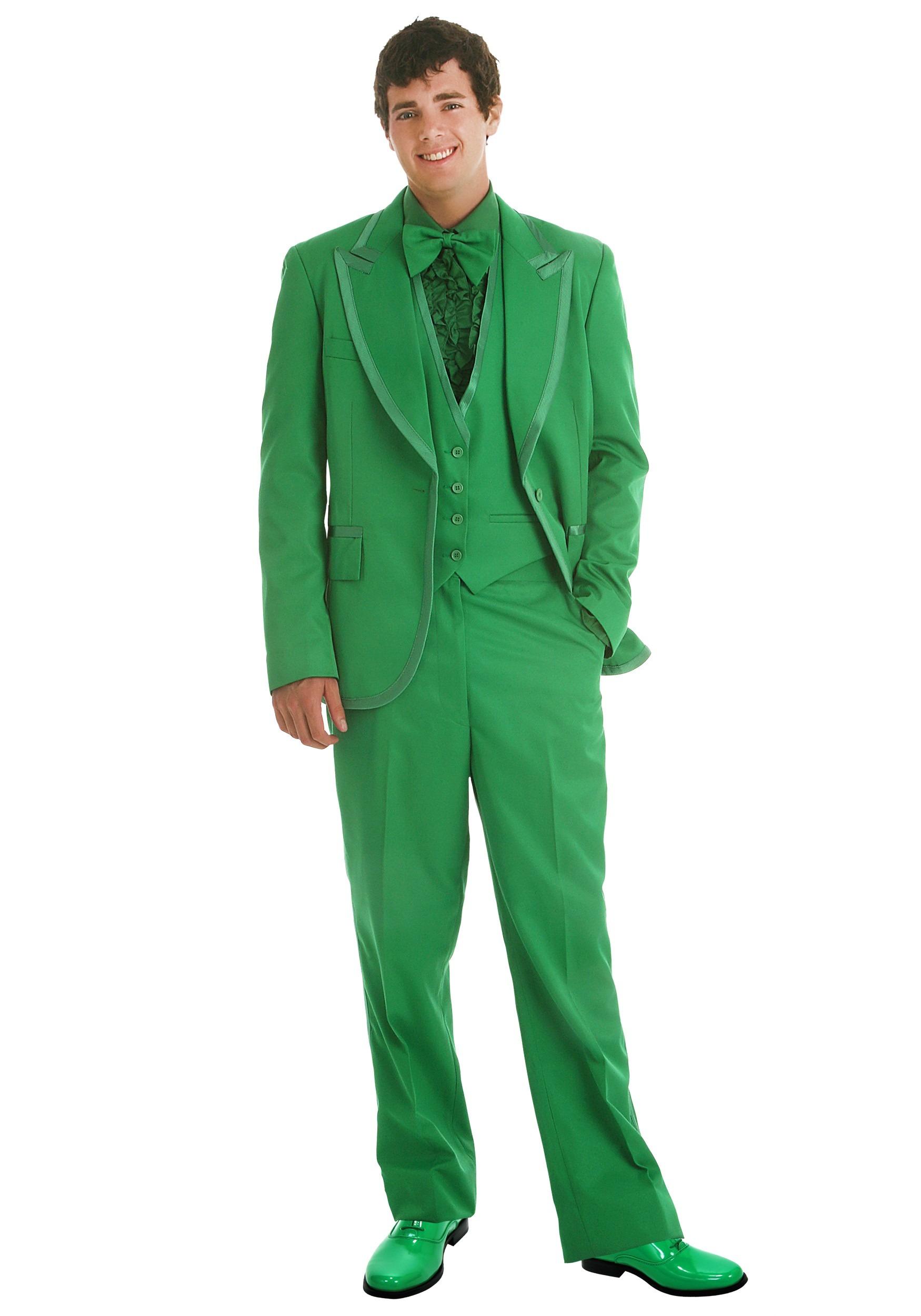 Men\'s Green Tuxedo - Prom Tuxedo Rental