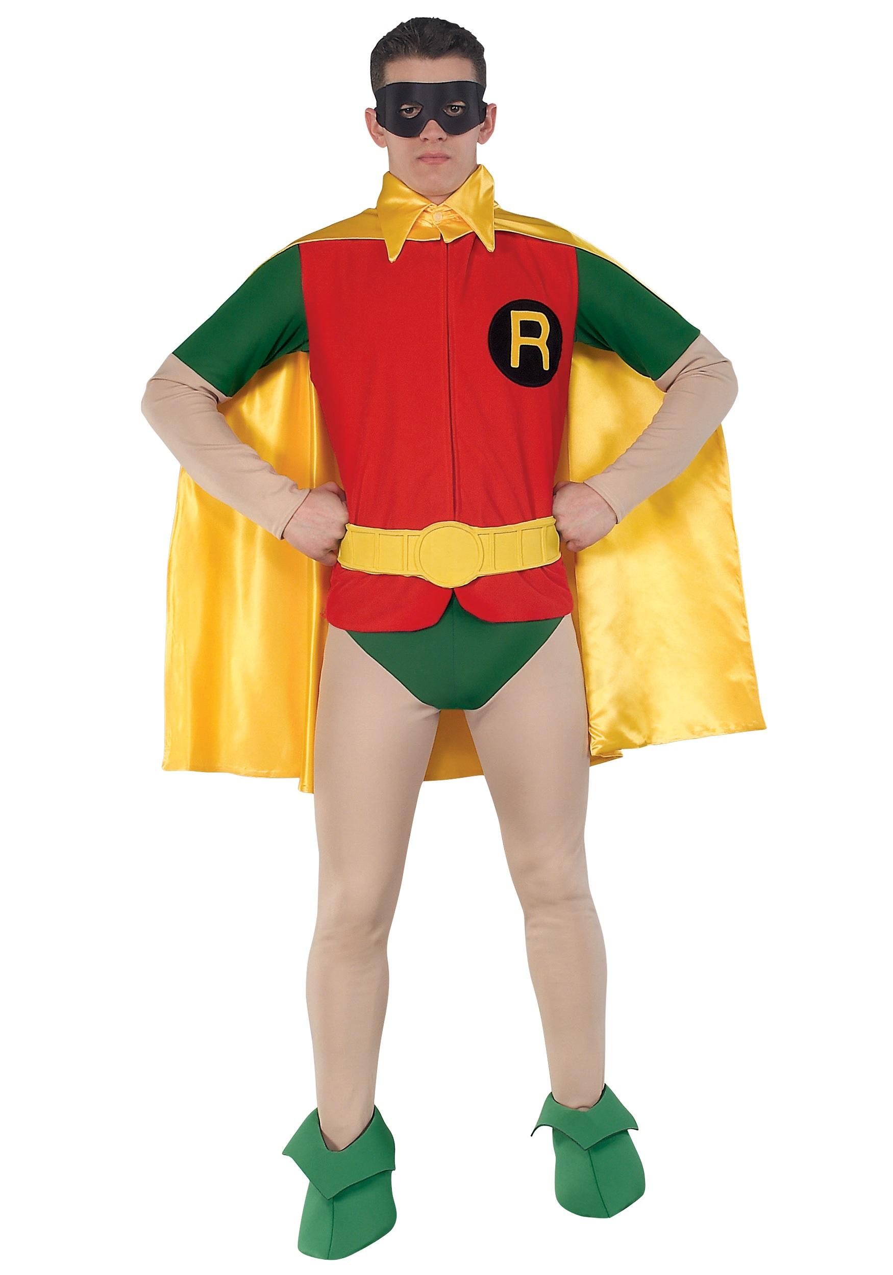 Classic Robin Costume  sc 1 st  Costumes Galore & Classic Robin Costume - Authentic Batman Costumes